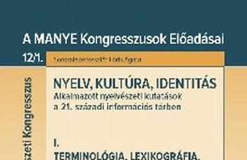 Szerkesztett kötetekben a XXVII. Magyar Alkalmazott Nyelvészeti Kongresszus előadásai